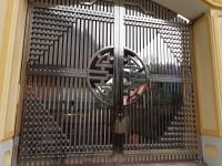 cửa cổng inox mẩu 01