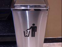thùng đựng đồ ăn thừa, thùng đựng rác inox