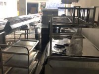 thiết bị inox bậnh viện, bếp trường học