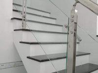 Cầu thang Inox ,sắt giá rẻ