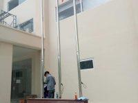 gia công lắp đặt cột cờ inox