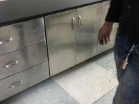 tủ bếp khung inox 304