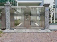 Thi công cổng inox ở vinh giá rẻ 0962223089