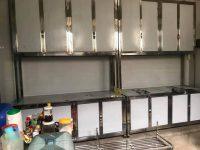 Thi công tủ bếp inox 0962223089