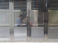 Cửa cổng  inox 304 ở vinh