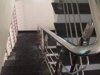 cầu thang , lan can inox &kính