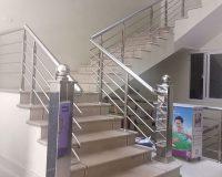 cầu thang ,lan can, xuyên hoa