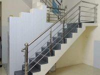 Cầu thang Inox mẩu 304 vinh hà tĩnh